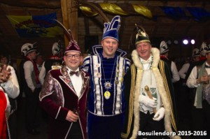 Verbroederings-feest in Chaam 15-1-2016